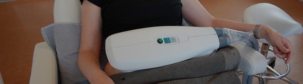 Closeup af fedtfrysning med cooltech